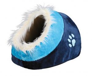 Minou igloo, 35 x h26 x 41 cm, mörkblå/blå
