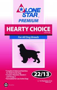 Lone Star Hearty Choice 15kg (Beställningsvara)