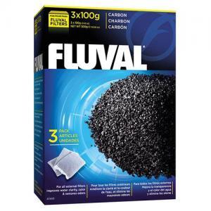 AKTIVT FILTERKOL FLUVAL 3x100GR 300GR A1440