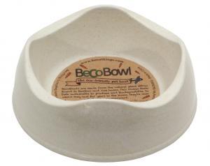Beco matskål Beige från växtfibrer XXS 7,5 cm