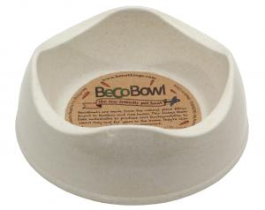Beco matskål Beige från växtfibrer XS 11 cm