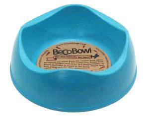 Beco matskål Blå från växtfibrer XS 11 cm