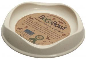 Beco matskål Beige från växtfibrer 13,6x3cm