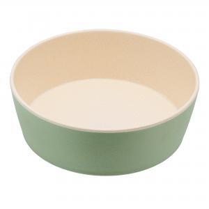 Beco matskål Mint Flat från växtfibrer 18x6,5 cm