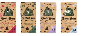 Green Bone Cotton 8 rullar/ 120 Påsar