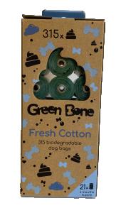 Green Bone Refill Stor Cotton 21 rullar/ 315 påsar