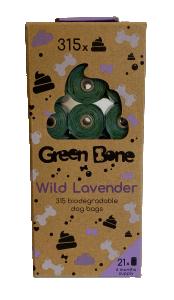 Green Bone Refill Stor Lavendel 21 rullar/ 315 påsar