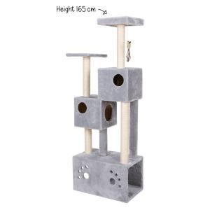 Klösmöbel Sylvester 60x35xH165cm Plysch/sisal