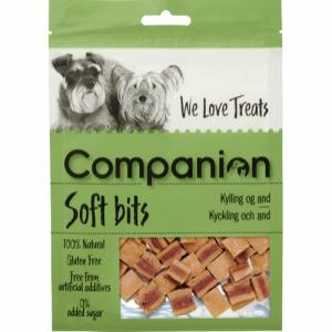 Companion Soft bits - Kyckling och and, 80g