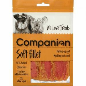 Companion Soft fillet - Kyckling och and, 80g