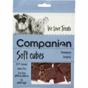 Companion Soft cubes - Oxhjärta, 80g