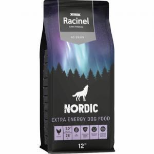 Racinel Nordic Dog Extra Energy, No Grain 12 kg