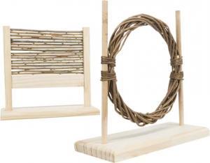 Agility set med hinder och ring, 28 × 26 × 12 cm