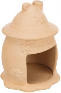 Keramikhus, möss, ø 11 × 14 cm, terrakotta