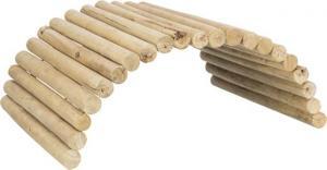 Bro, flexibel, marsvin, trä, 52 × 30 cm