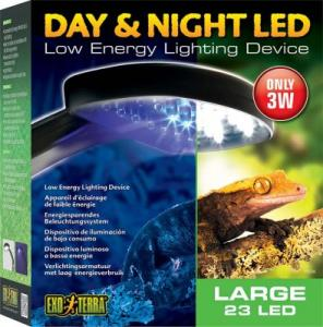 DAY & NIGHT LED 3W EXOTERRA 22 VITA/2 BL
