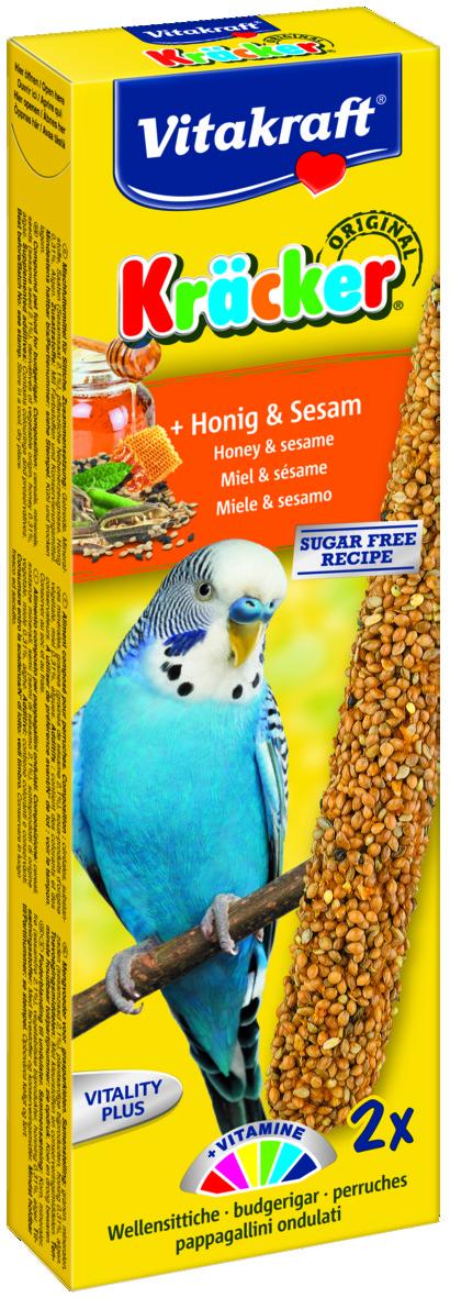 Kräcker Honung & Sesam 2-pack, Undulat
