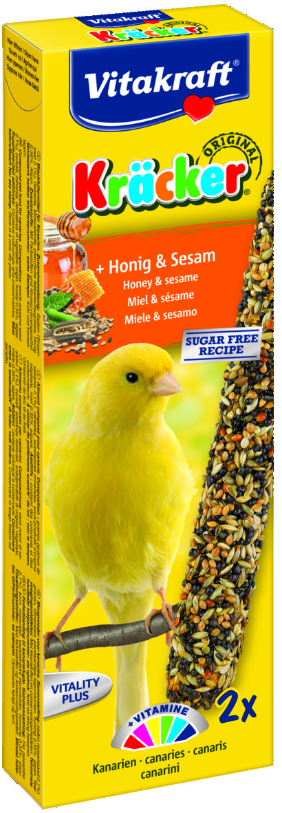 Kräcker Honung & Sesam 2-pack, Kanarie