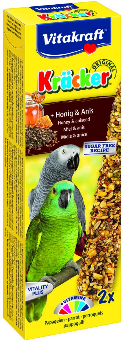 Kräcker Honung & Anis 2-pack, Papegoja