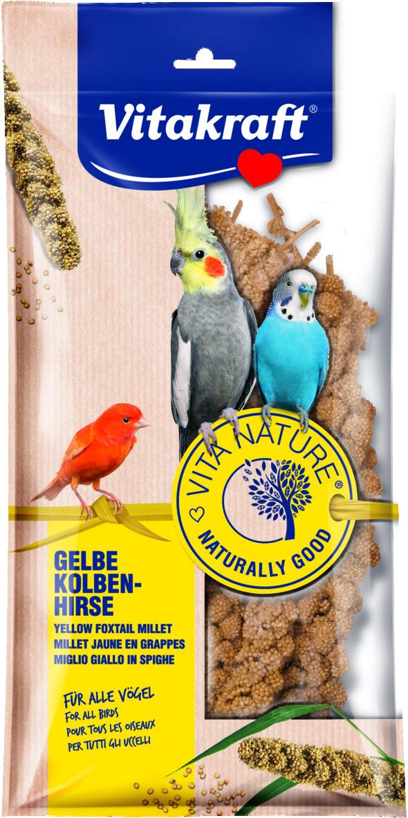 Vita Nature Hirskolvar 100g, Alla fåglar