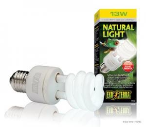 NATURAL LIGHT LYSRÖRSLAMPA 13W E27 EXOTE