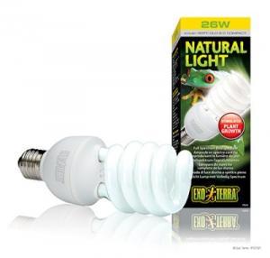 NATURAL LIGHT LYSRÖRSLAMPA 25W E27 EXOTE
