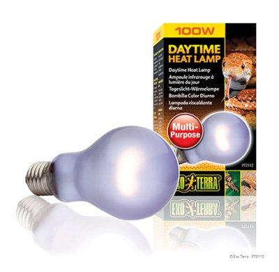 "DAYTIME HEAT LAMP 100W A21 E27 EXOTERRA"""