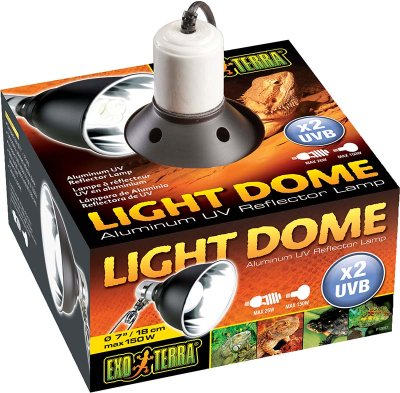LIGHT DOME EXOTERRA18CM