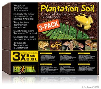 PLANTATION SOIL 3x 8.8L TROPISKT SUBSTRA