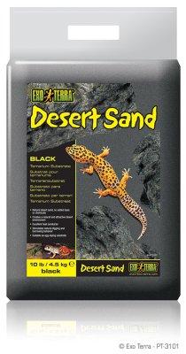 DESERT SAND SVART 4.5KG EXOTERRA