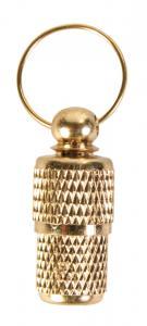 Namntub metall Guld