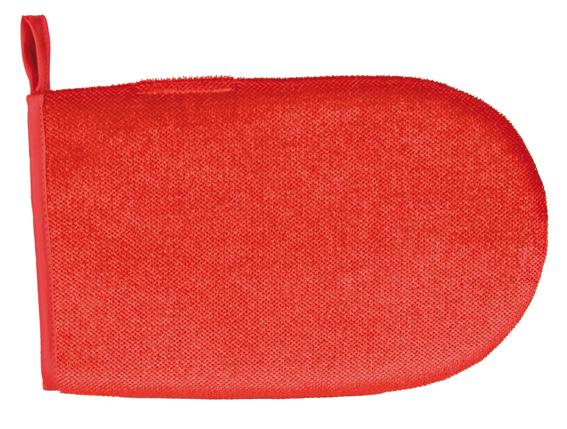Klädvårdshandske, röd