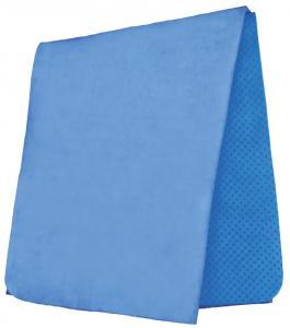 Handduk, högabsorberande PVA, 66 × 43 cm, blå