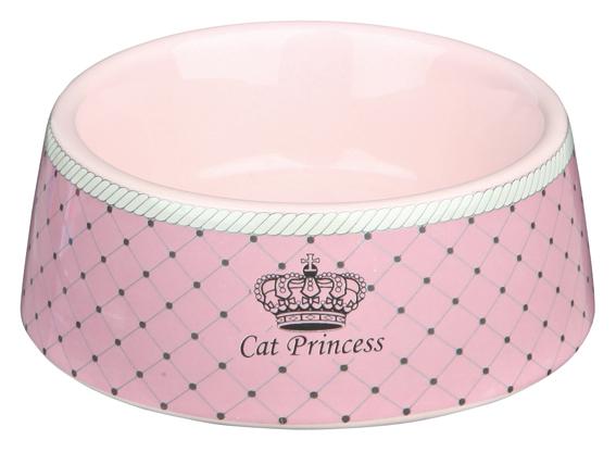 Keramikskål Princess Cat 0,18L 12cm Rosa