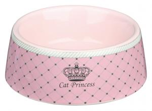 Keramikskål Princess Cat 0,18L 12cm Rosa