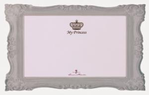 Princess matskålsunderlägg 44x28 cm