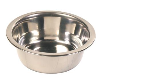 Matskål rostfri, 0,45 l/ø 12 cm