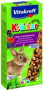 Kräcker Skogsbär & Fläder 2-pack, Kanin