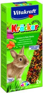 Kräcker Grönsaker & Rödbeta  2-pack, Kanin