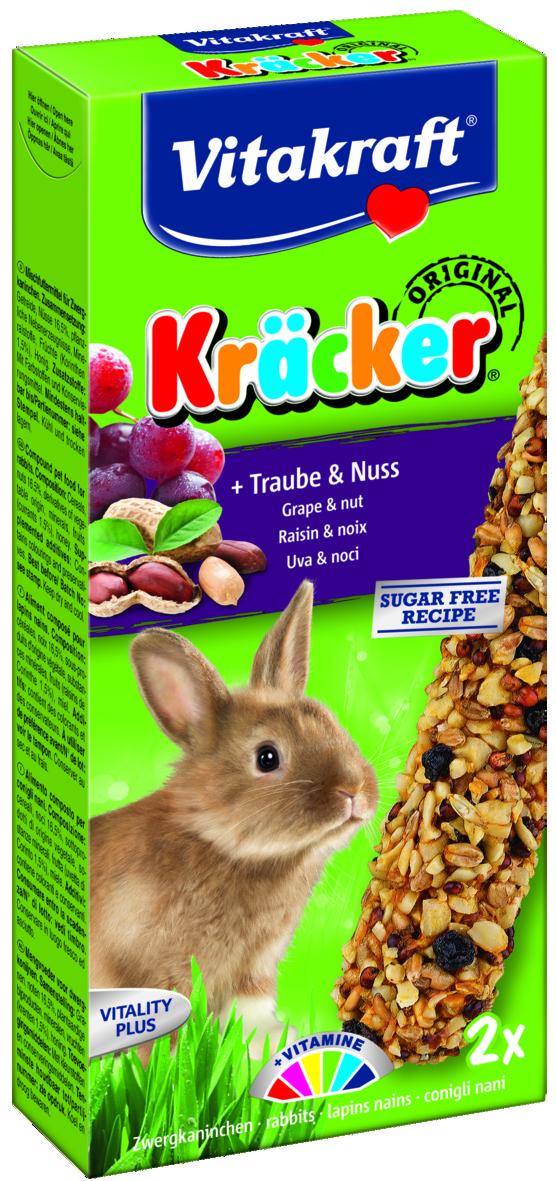 Kräcker Druvor & Nötter 2-pack, Kanin
