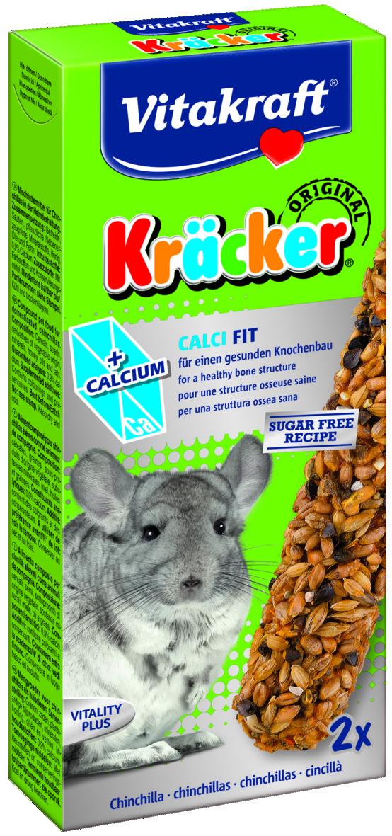 Kräcker Kalcium 2-pack, Chinchilla