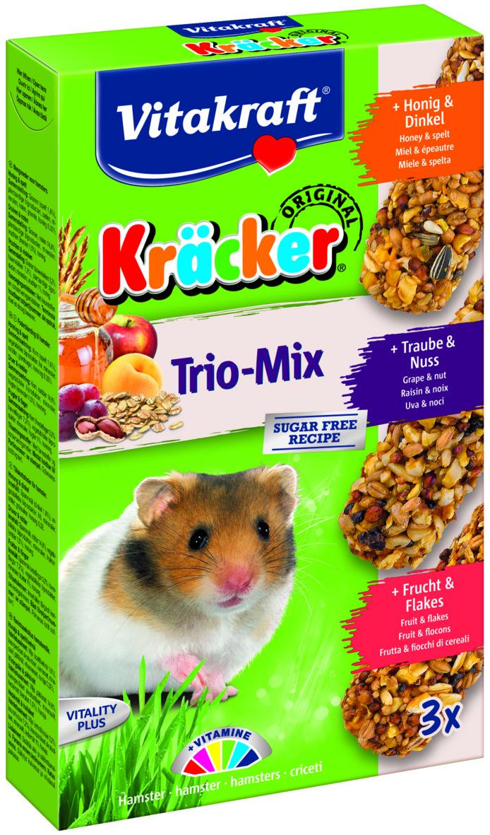 Kräcker Trio-Mix Ho&Dink/ Druv&Nö/ Fr&Fli Hamster
