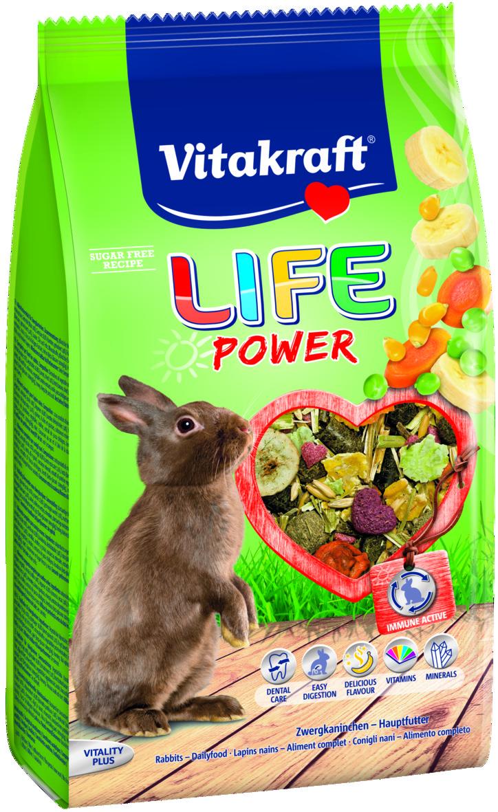 Life Power 600g, Kanin