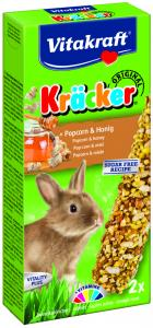 Kräcker Popcorn & Honung 2-pack, Kanin