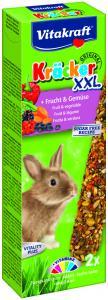 Kräcker XXL Frukt & Grönsaker 2-pack, Kanin