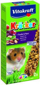 Kräcker Druvor & Nötter 2-pack, Hamster