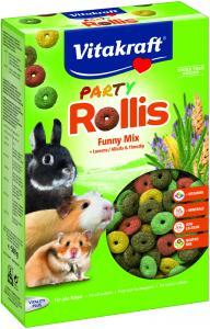 Rollis Party 500g, Alla Gnagare