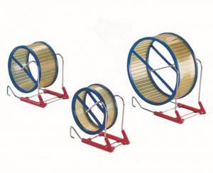 Springhjul Plast - Ø12cm - Gul