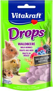 Drops Skogsbär 75g, Alla gnagare