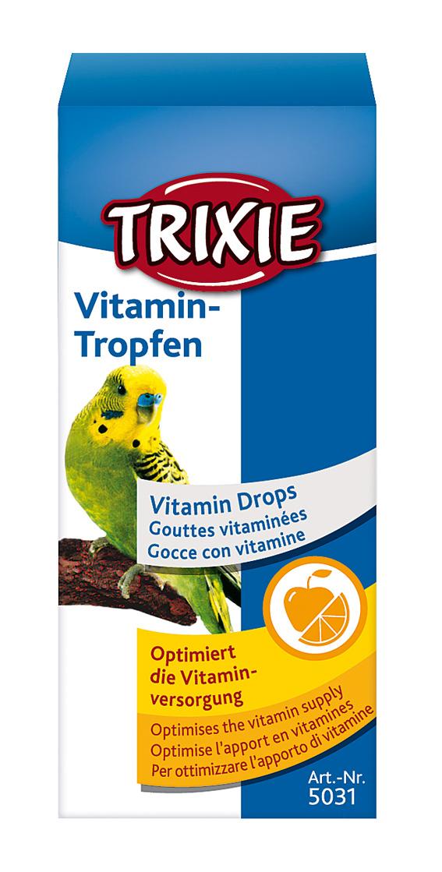 Vitamindroppar för fågel 15 ml
